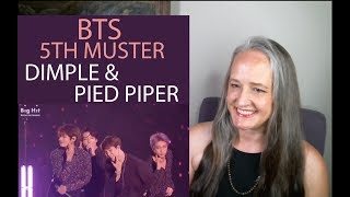 Download Voice Teacher Reacts to BTS Pied Piper + Dimple - 5th Muster Video