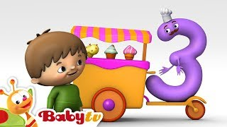 Download Counting with Charlie & The Numbers - Charlie meets Number 3 | BabyTV Video