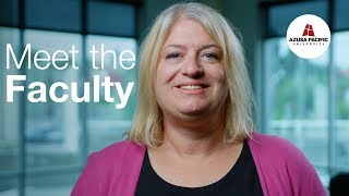 Download Meet the Faculty: Sarah Richart, Ph.D. Video