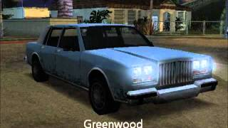 Download GTA San Andreas / Cars, Planes, Boats... (List A - Z) Video