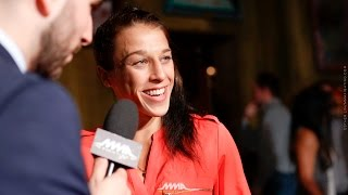 Download UFC 211: Joanna Jędrzejczyk Explains Uncommonly Friendly Faceoff with Jessica Andrade - MMA Fighting Video