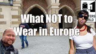 Download 5 Things American Tourists Shouldn't Wear in Europe Video