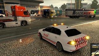 Download Multiplayer ETS2 | Convoy estrenando el auto piloto Video