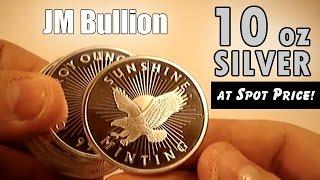 Download JM Bullion Starter Pack – 10 oz Silver Tube at Spot Price! Video