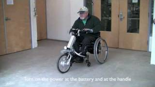 Download The Firefly Attachable Electric Handcycle by Rio Mobility Video