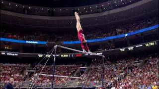 Download Chellsie Memmel - Uneven Bars - 2008 Olympic Trials - Day1 Video