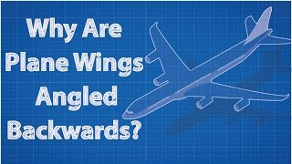Download Why Are Airplane Wings Angled Backwards?? Video