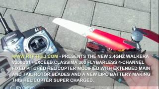 Download RTF-HELI - WALKERA V200D01 / EXCEED CLASSIMA 300 MODS Video