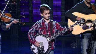 Download 9-Year-Old Plays Banjo on David Letterman Show Video