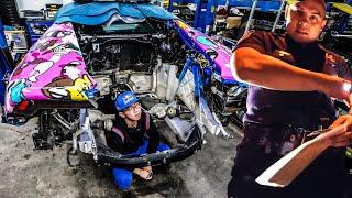 Download BEVERLY HILLS COP FORCES LAMBORGHINI TO REMOVE ENGINE! *ALEX CHOI VLOG* Video