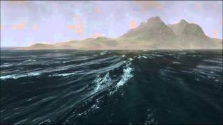 Download UniStorm 2.1.3 - Stormy Ocean with Ceto (HD 60 fps) - For Unity3d Video