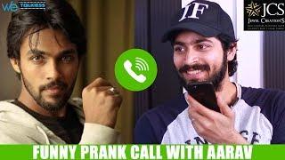 Download Harish Kalyan Cheats Aarav - Funny Prank Call and Latest Interview | Bigg Boss Tamil Video