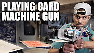 Download PLAYING CARD MACHINE GUN- Card Throwing Trick Shots Video