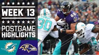 Download Dolphins vs. Ravens | NFL Week 13 Game Highlights Video