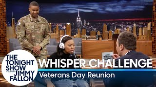 Download Whisper Challenge Veterans Day Reunion Surprise Video
