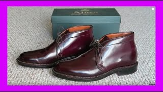 Download Maintaining Shine On Alden Shell Cordovan Shoes Video