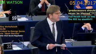 "Download VERHOFSTADT CALLS BRITAIN ""SICK MAN OF EUROPE"" - ANTI-EU MEPs DEFEND BREXIT Video"