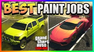 GTA5 How to get a matte pearlescent for your crew colors