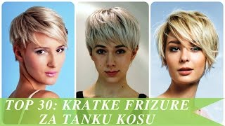 Download Top 30 kratke frizure za tanku kosu Video