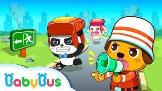 Download # Earthquake Safety Tips | CHILDREN LEARN HOW TO BE SAFE | Baby Panda Game Play Video
