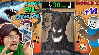 Download ROBLOX Grandma's EVIL Elevator not NORMAL w/ SHARK TORNADO | FGTEEV Duddy #14 (Gameplay Roleplay) Video