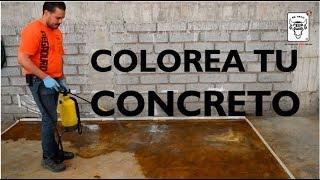 Download OXIDURO - Oxidante de Concretos (Colorea tu concreto) Video