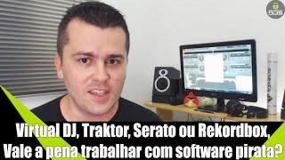 Download VDJ, Serato, Traktor, ou Rekordbox, Vale a Pena Trabalhar com Software Pirata - Renato Dj Responde Video