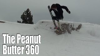 Download HOW TO PEANUT BUTTER 360 ON SKIS Video