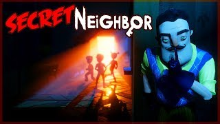 Download SECRET NEIGHBOR ONLINE - ABRIMOS LA PUERTA SECRETA Video