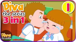 Download Seri Diva 3 in 1 | Kompilasi 3 Episode ~ Bagian 1 | Diva The Series Official Video