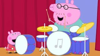 Download Peppa Pig English Episodes 🎉 Peppa Pig's Orchestra 🎉 Peppa Pig Official | 4K Video