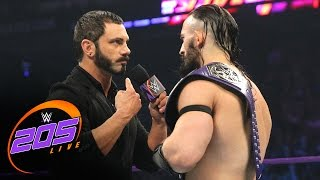 Download Austin Aries and Neville come to blows before WrestleMania: WWE 205 Live, March 28, 2017 Video