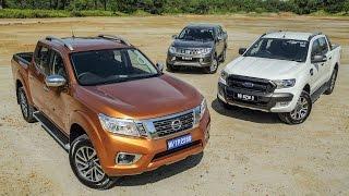 Download DRIVEN 2015 #5: Nissan Navara vs Ford Ranger vs Mitsubishi Triton Video