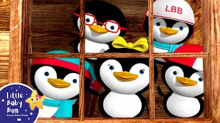 Download Little Baby Bum | 5 Little Penguins | Nursery Rhymes for Babies | Songs for Kids Video