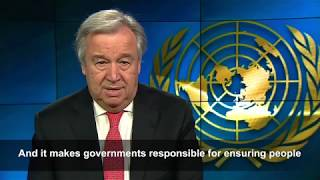 Download Secretary-General's message on Human Rights Day Video