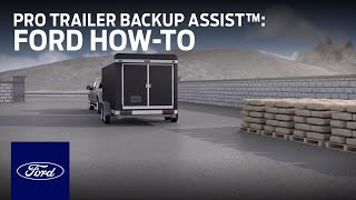 Download How to Use Pro Trailer Backup Assist™ | Ford How-To | Ford Video