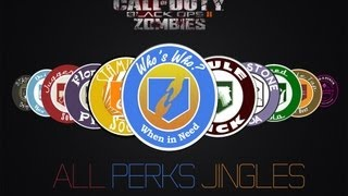 Download Black ops 2 | All perks jingles | Zombie including who's who Video