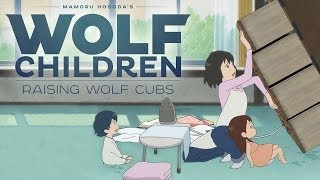 Download Wolf Children Official Clip - Raising Wolves (English) Video