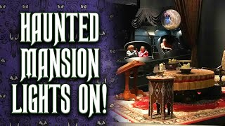 Download Lights-On Walkthrough of the Haunted Mansion at Walt Disney World Video