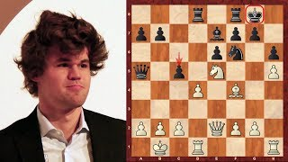 Download Magnus Carlsen Top Eight Amazing Chess Sacrifices (up until 2014) Video