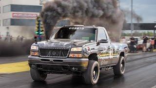 Download DIESEL Drag Truck - 100psi of BOOST! Video