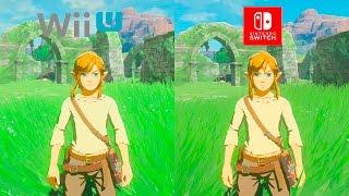 Download Zelda Breath of The Wild | WiiU VS Switch | 1.1.0 GRAPHICS COMPARISON | Comparativa Final Video