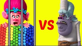 Download Evil Bergen Chef Steals Rainbow Gumballs, Can Sad Poppy and Branch Save Them? Video