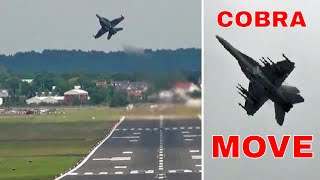 Download Wicked F-18 Flying. ″ Near Cobra Manoeuvre ″ Video