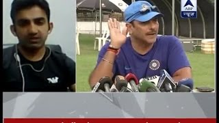 Download It is Ravi Shastri's desperation whereas Anil Kumble is the best choice, says Gautam Gambhir Video