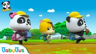 Download Baby Panda Goes for a Picnic | Love Drinking Water | Kids Good Habits | BabyBus Video