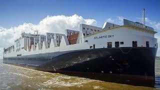 Download Atlantic crossing with ATLANTIC SKY Video