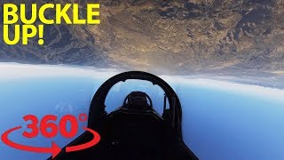 Download Take control of a fighter jet over Southern California in VR Video