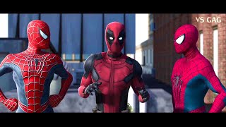 Download Spider-man: Homecoming VS AMAZING SPIDERMAN ft Deadpool (parody) Video