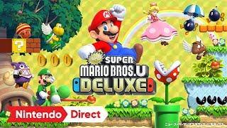 Download NewスーパーマリオブラザーズU デラックス [Nintendo Direct 2018.9.14] Video
